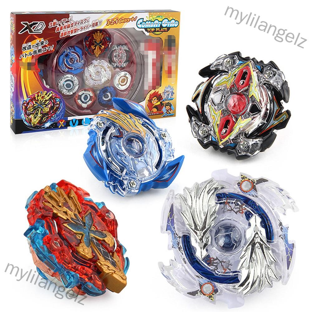 Mylilangelz Burst Metal Fusion Launcher Beyblade Spinning Top Kids Game Toys Children Gift