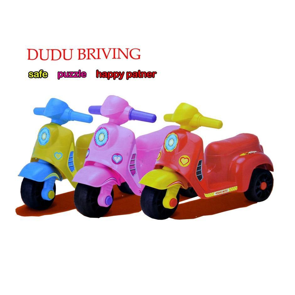 DUDU BRIVING Kids Mini 3 Wheel Scooter AND Push Car Toys