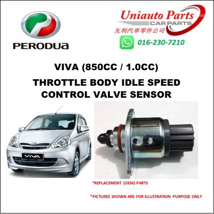 PERODUA VIVA (850CC / 1 0CC)THROTTLE BODY IDLE SPEED CONTROL VALVE SENSOR  SWITCH