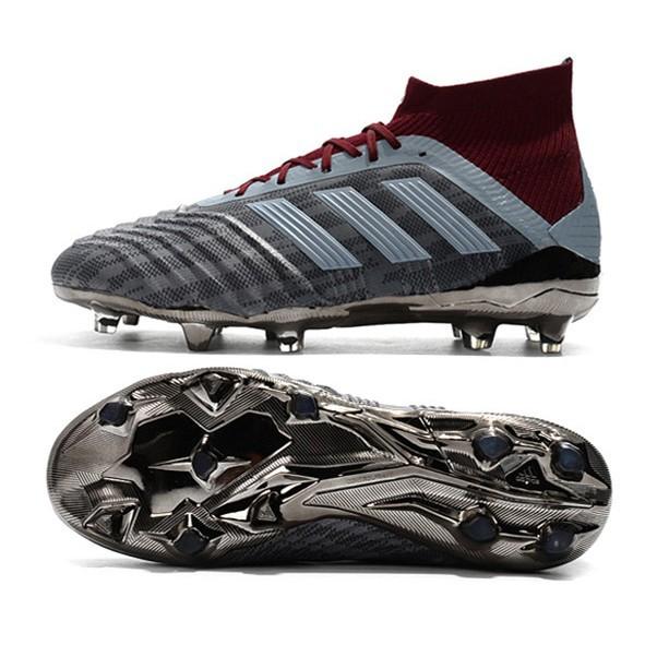 cost charm utterly stylish temperament shoes Original adidas Predator 18.1 FG Pogba men's high soccer football shoes  38-46