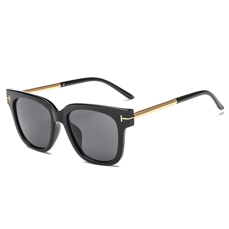 European American Style Square Ladies Wild Sunglasses T Decorative Glasses Fashion Trend Female Sunglasses