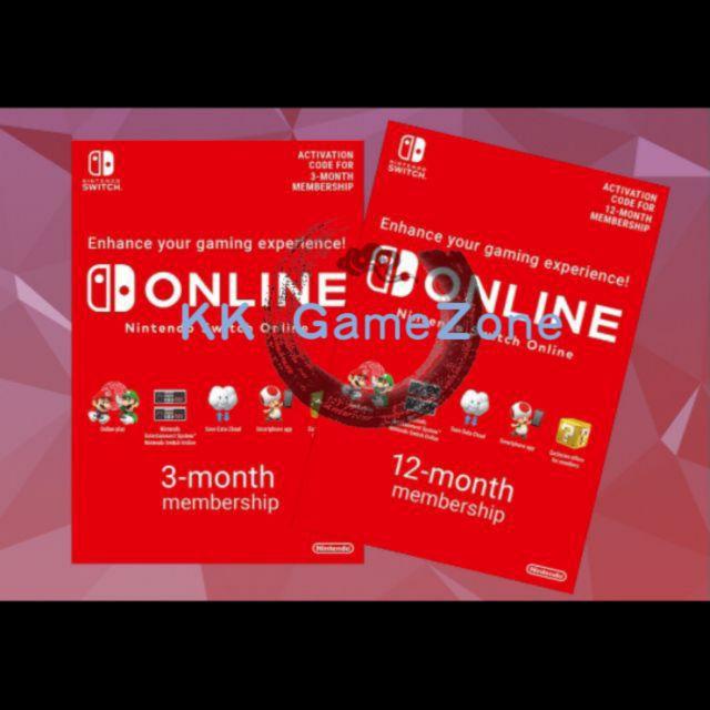 Usa Nintendo Switch Eshop Online Membership Nso Individual Family Fast Shopee Malaysia