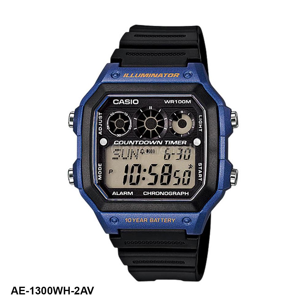 Casio AE-1300WH-2AV HIIT Training Watch