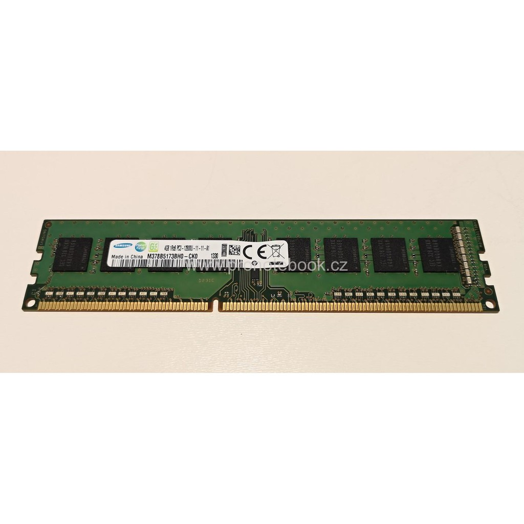 4GB Module DDR3 1600MHz Samsung M378B5173DB0-CK0 12800 NON-ECC Memory RAM