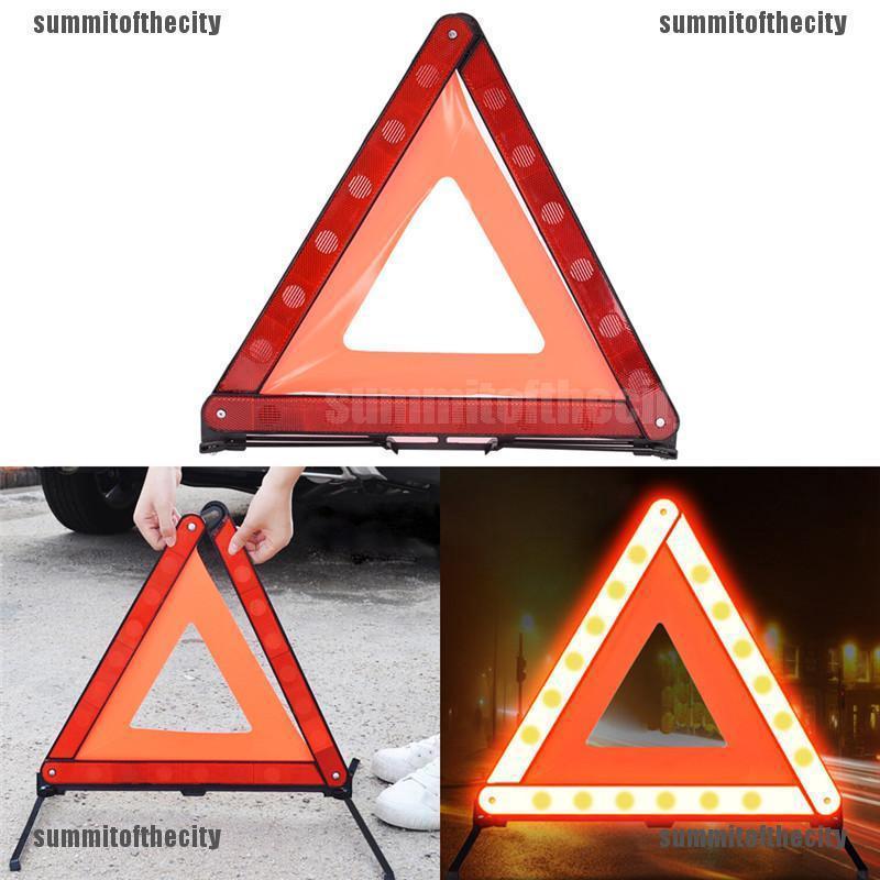 Warning Car Triangle Reflective Road Emergency Breakdown