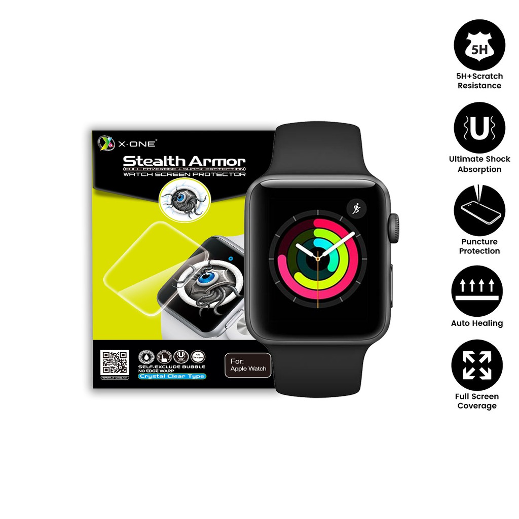Apple Watch X-One Stealth Armor Watch Screen Protector
