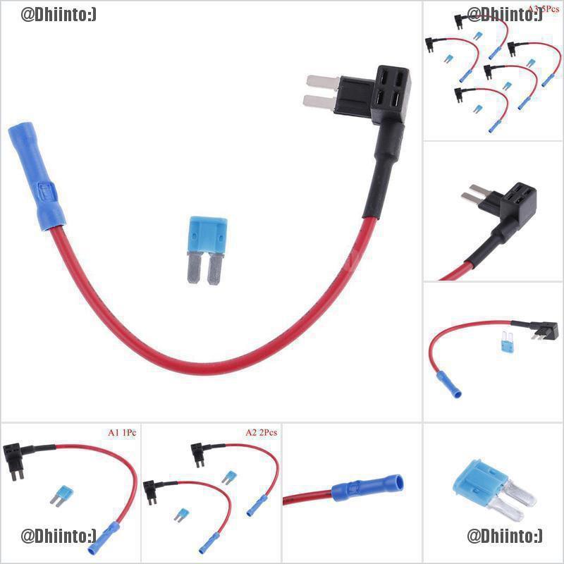 1Pc//2pcs//5pcs micro2 fuse tap ADD-A-CIRCUIT blade /'ATR mini fuse holder 15A fuse