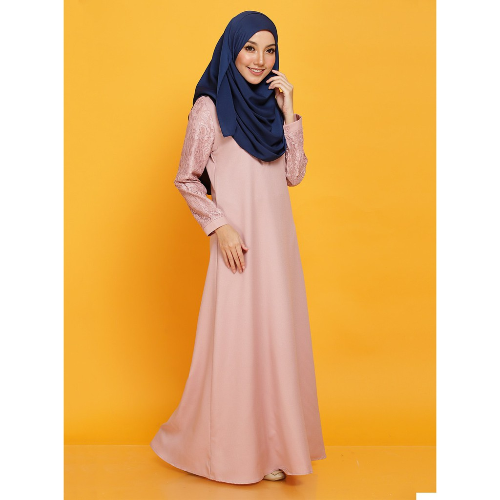 Buy Muslimah Jubah Online Muslim Fashion Shopee Malaysia Longdress Payung Not Set