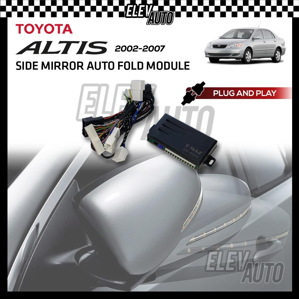 Side Mirror Auto Fold with Buzzer Toyota Altis 2002-2007