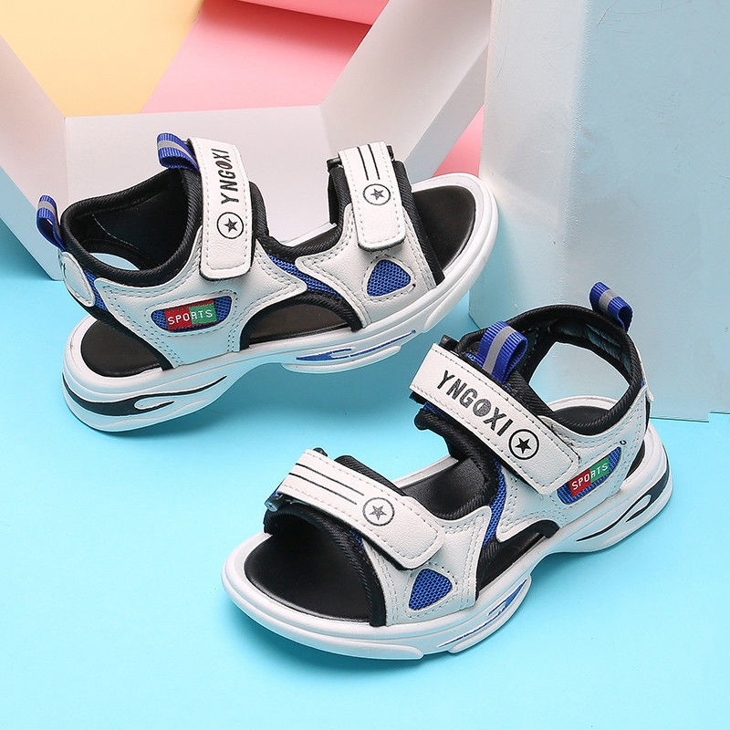 Kids Sandals Boys Sport Sandals Child Casual Beach Sandals Boys sandals  2020 new soft-soled children's beach shoes men's non-slip and in   Shopee  Malaysia