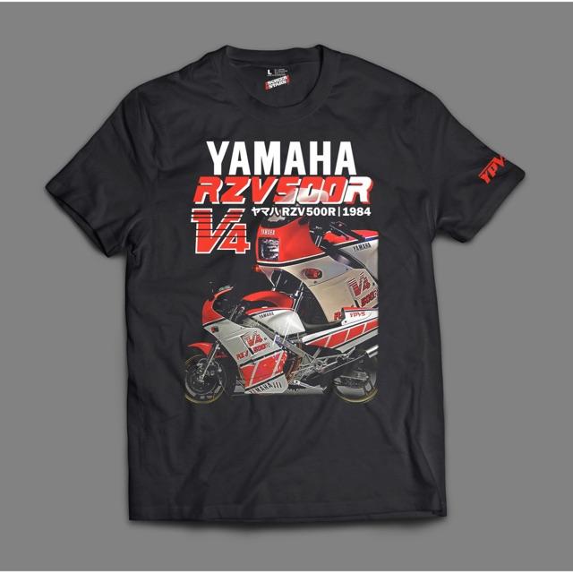 Yamaha RZV500R V4 retro tshirt