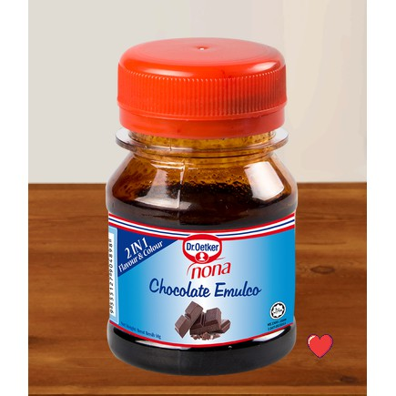 Dr.Oetker Nona chocolate emulco 2 in 1 Flavour & Colour @ 50g  ( Free Fragile + Bubblewrap Packing )