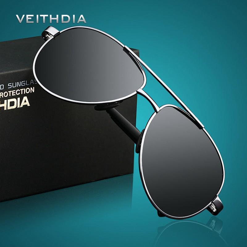 1267a7be6 VEITHDIA Men Sunglasses Brand Designer Pilot Polarized Sunglasses Oculos De  Sol | Shopee Malaysia