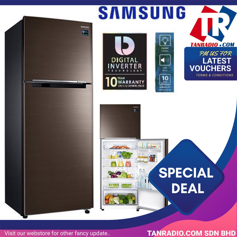 Samsung Top Freezer 410L With Twin Cooling Plus RT32K5052DX
