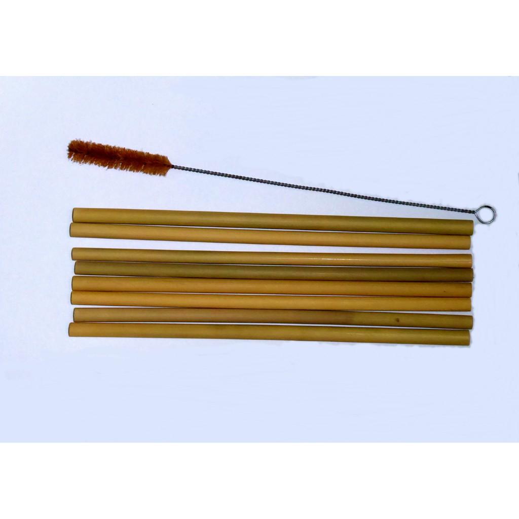 TheUsuk Straw Cleaning Brush - Coconut Fibre Regular 8″/20.5cm