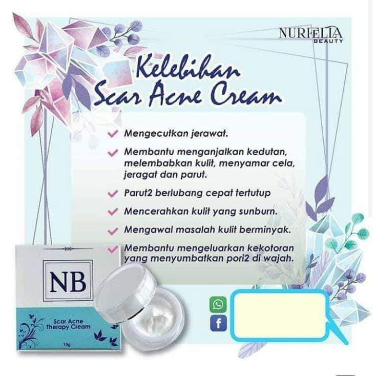 Image result for nb scar acne therapy cream