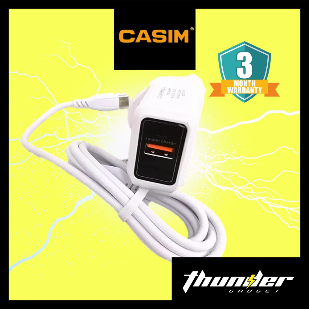 CASIM DESIGN S30 5A Super Charge With TYPE-C MICRO Cable