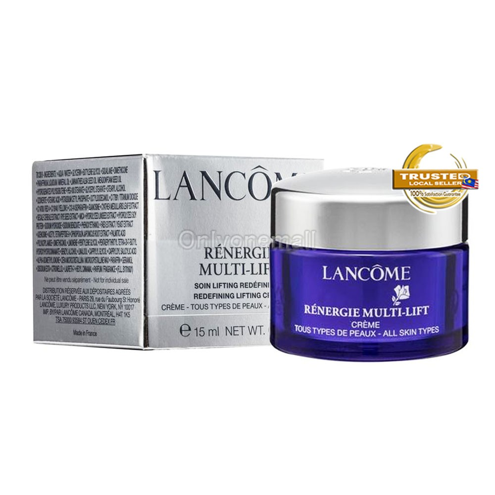 LANCOME Rénergie Multi-Lift Rederining Lifting Day Cream 15ml