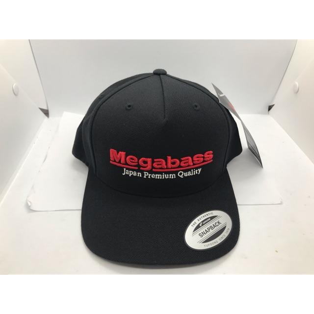 c9193ae01 Megabass Classic SnapBack Hat Black