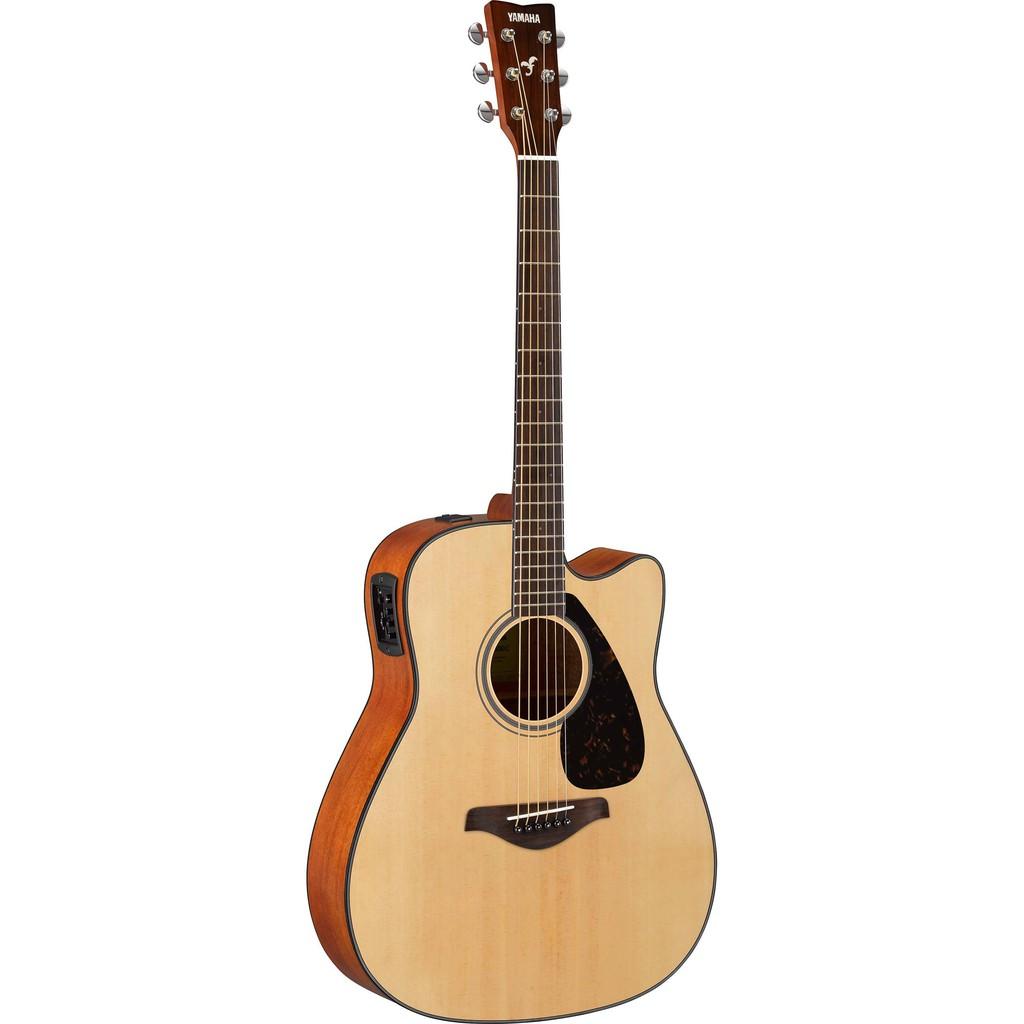 Yamaha FGX800C Dreadnought Cutaway Acoustic-Electric Guitar - Natural (FGX-800C)