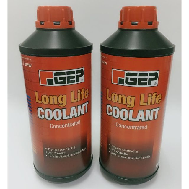 Gep Long Life coolant (product from UMW)