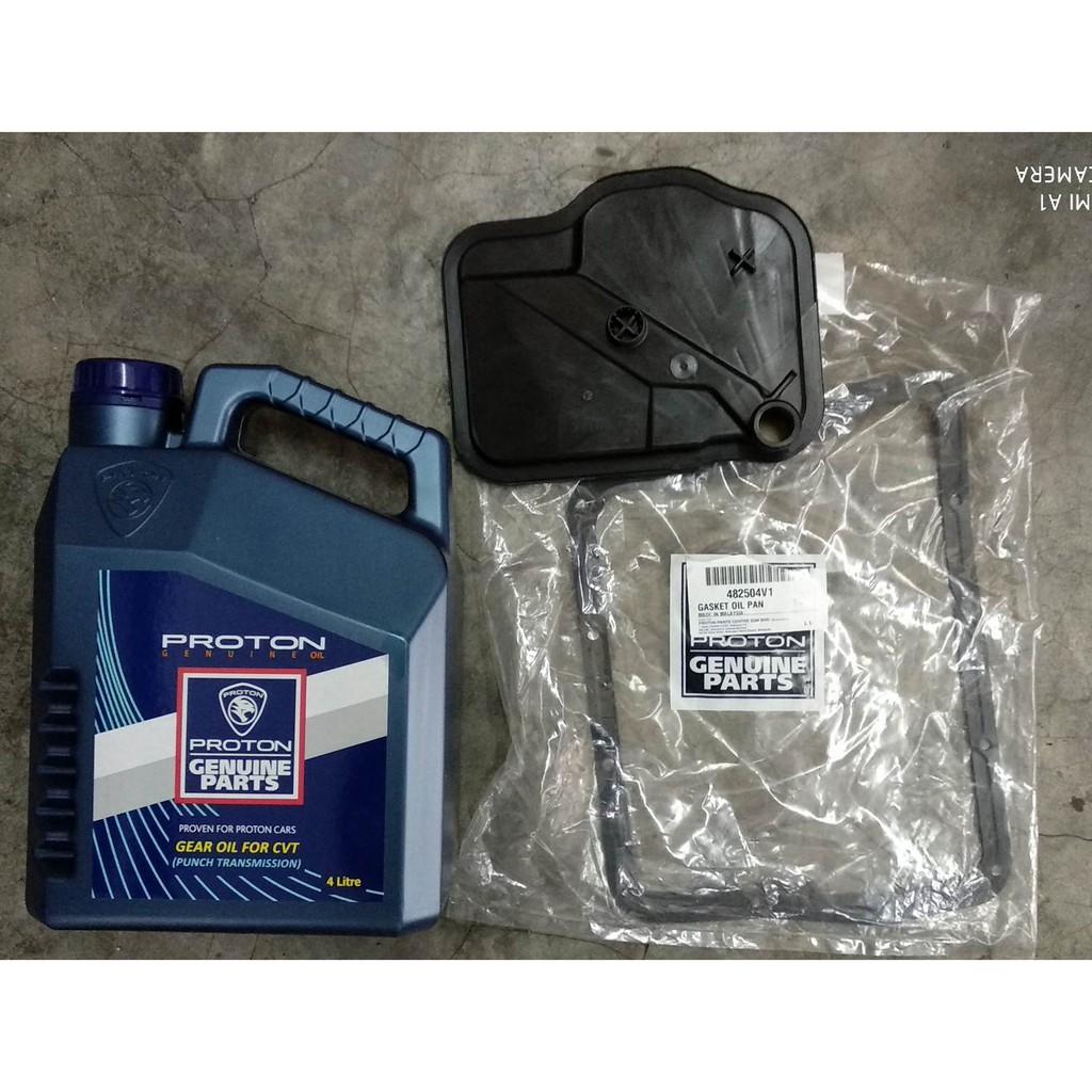 Proton CVT Oil + Gasket + CVT Filter + Labour at Auto Marques Express, PJ