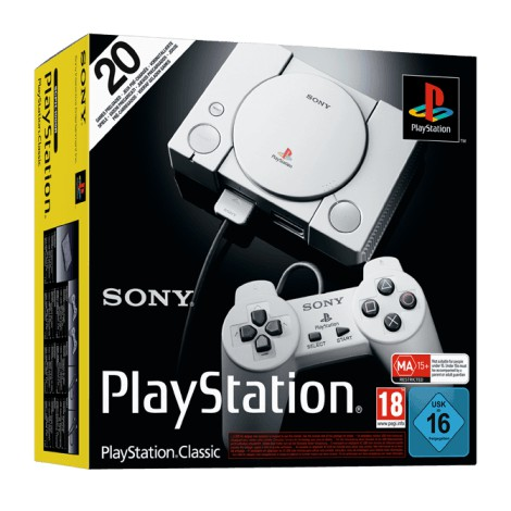 SONY PS1 PLAYSTATION CLASSIC [80 Games-20 Games]