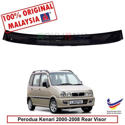 Perodua Kenari (2000-2008) AG Rear Wing Spoiler Visor (Small 10cm)