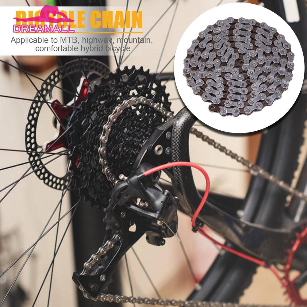 8//9//10//11 Speed Bicycle Chains 116 Links Premium For Folding Mountain Road Bike