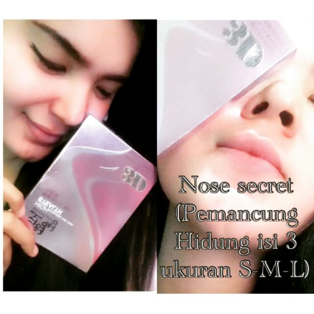 Korean Nose Up Pemancung Hidung 3D Rhinorlasty High Stealth Increased the Nose | Shopee Malaysia