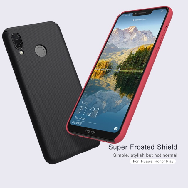Nillkin เคส Huawei Honor Play รุ่น Super Frosted Shield full har
