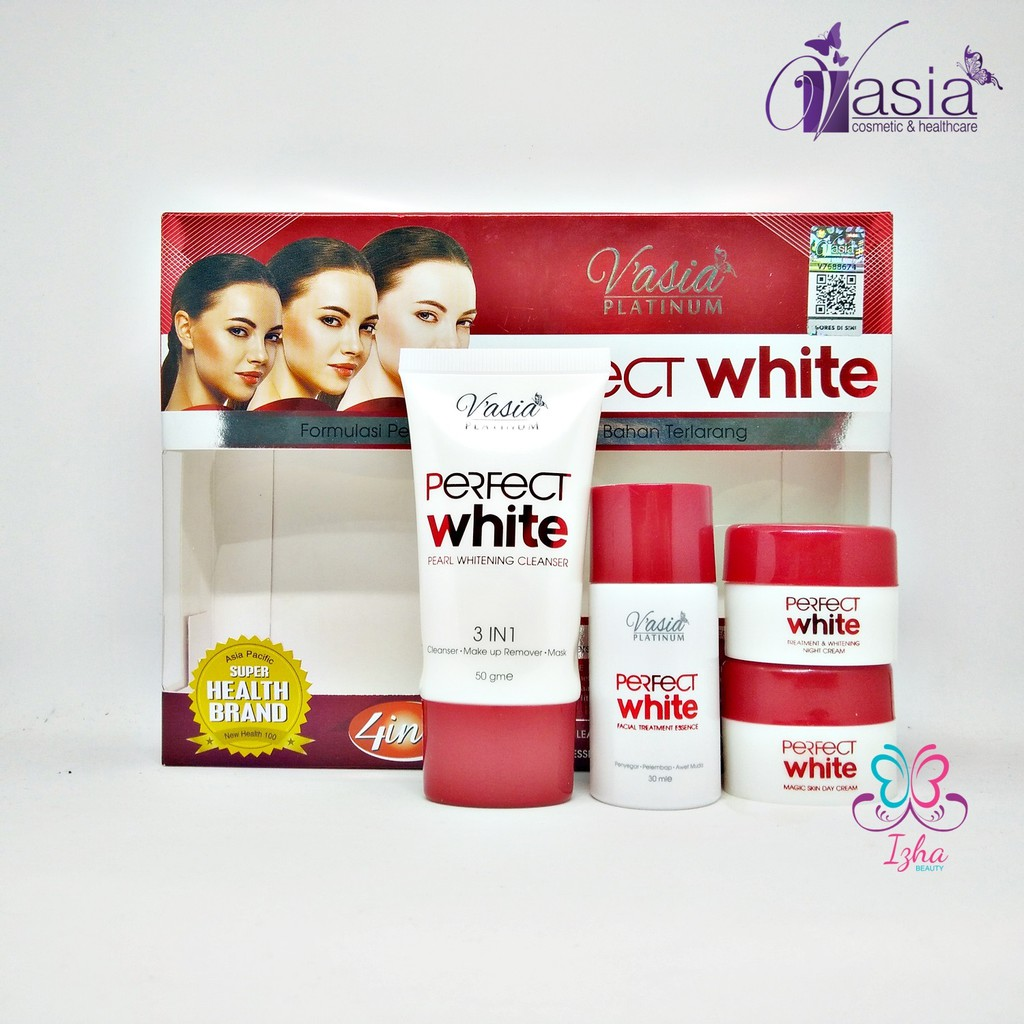 [V'ASIA] Perfect White Set 4in1