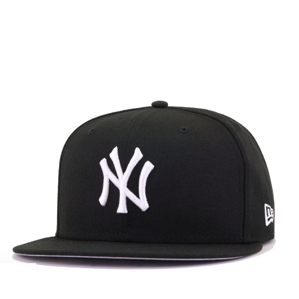 NEW YORK YANKEES Authentic CLASSIC Flat Bill Snapback Hat Cap Navy Gray MLB