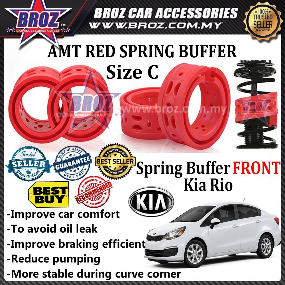My Kia Performance >> Kia Rio Oem Front C Type Car Shock Absorber Spring Buffer Red