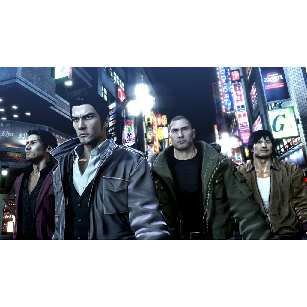 PS4 Yakuza 3, 4, 5 Remastered Collection (R3 CHINESE SUBS)