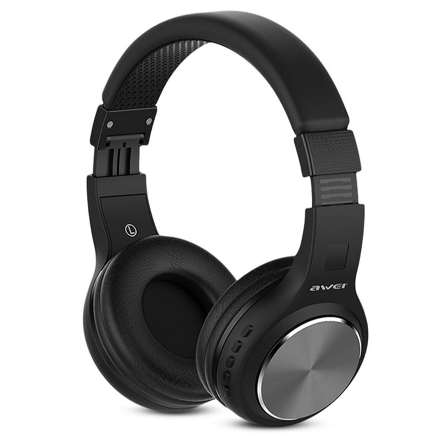 AWEI A600BL Wireless Bluetooth Over-ear Headphones Stereo Sound Noise Canceling with MIC