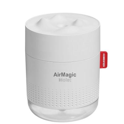 WMP 500ML AirMagic Moist Mini Rechargeable Humidifier Moisture Aromatherapy Night Lamp Aroma Diffuser Cool Mist Purifier