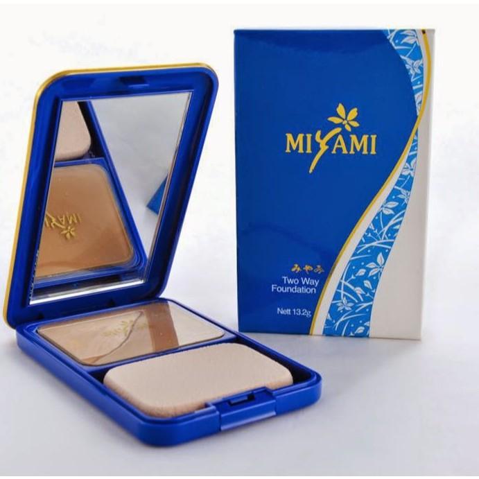 MIYAMI TWO WAY FOUNDATION 1(LIGHT) 100% ORIGINAL HQ+FREEGIFT