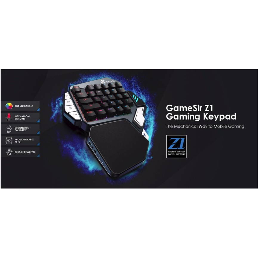 6366f006769 pubg GameSir Z1 Bluetooth Wireless Gaming Keypad for Phone   Shopee Malaysia