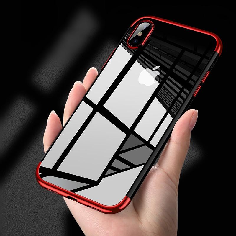 dc0420c2fc5 ProductImage. ProductImage. Ultra-thin transparent soft TPU case iPhone6 6S  7 8 Plus ...