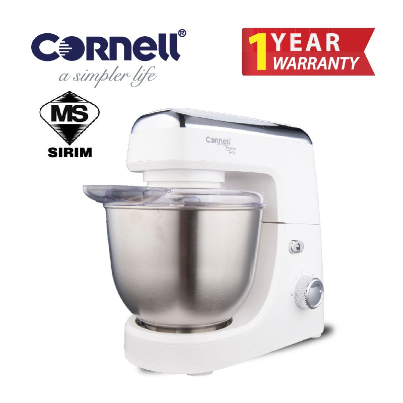 Cornell Heavy Duty 5 Speed Stand Mixer CSM-E600SSWH