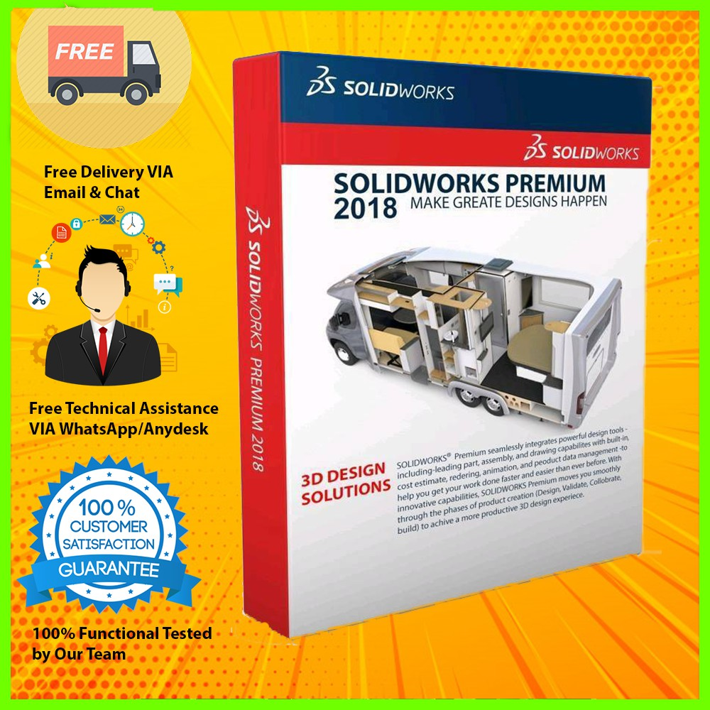 DS SolidWorks 2014 | 2016 | 2017 | 2018 | 2019 Premium Full Version