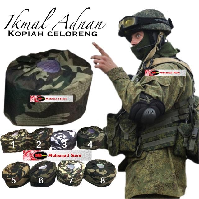 Ikmal Adnan Kopiah Celoreng