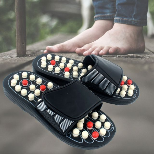 [MALAYSIA READY STOCK] Fitness Massage Slippers Acupressure Foot Massager Shoes