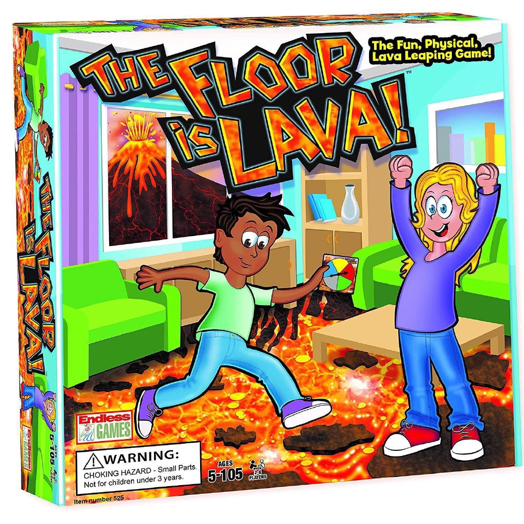 Outstanding The Floor Is Lava Turntable Card Childrens Game Card Table Game Card Download Free Architecture Designs Scobabritishbridgeorg
