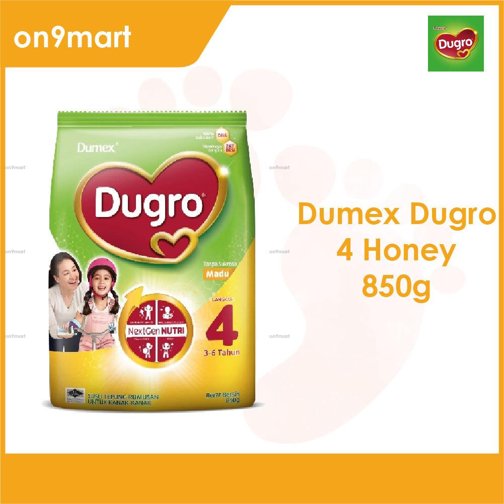 Dumex Dugro 4 Honey 3-6 Years 850g Milk Powder