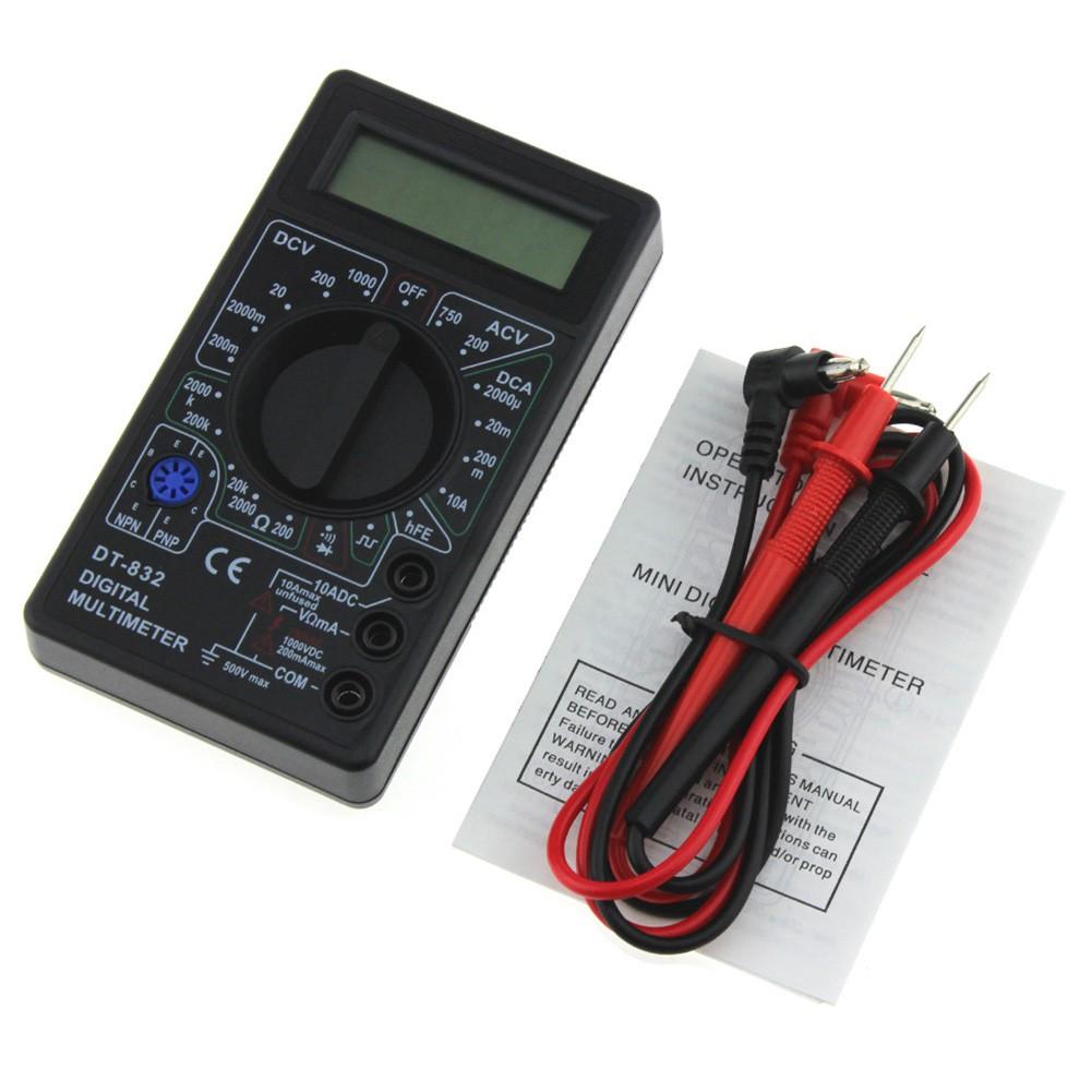 LCD Digitale Multimetro Voltmetro Amperometro AC DC OHM correnti del circuito cicalino tester