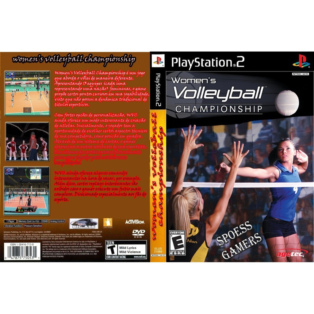 Ps2 Game Women S Volleyball Championship Shopee Malaysia