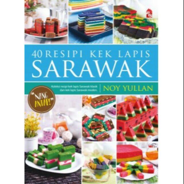 40 Resepi Kek Lapis Sarawak