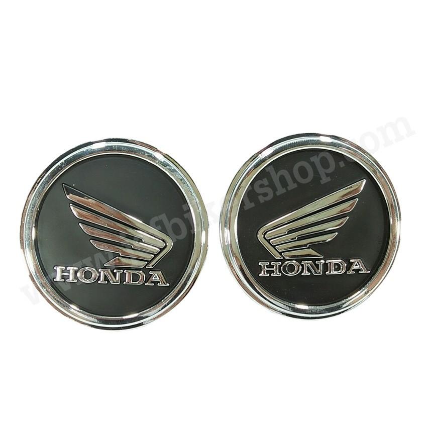 สติ๊กเกอร์โลโก้คู่ HONDA 4.5 CM (ส่งฟร